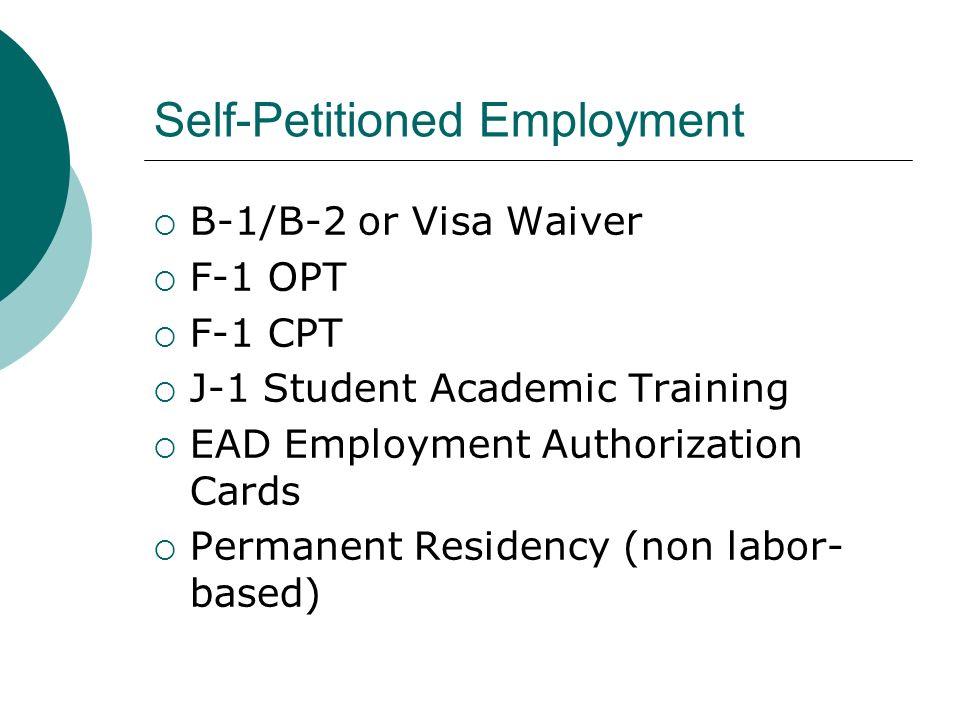 Visitors Visa: B-1/B-2 or Visa Waiver