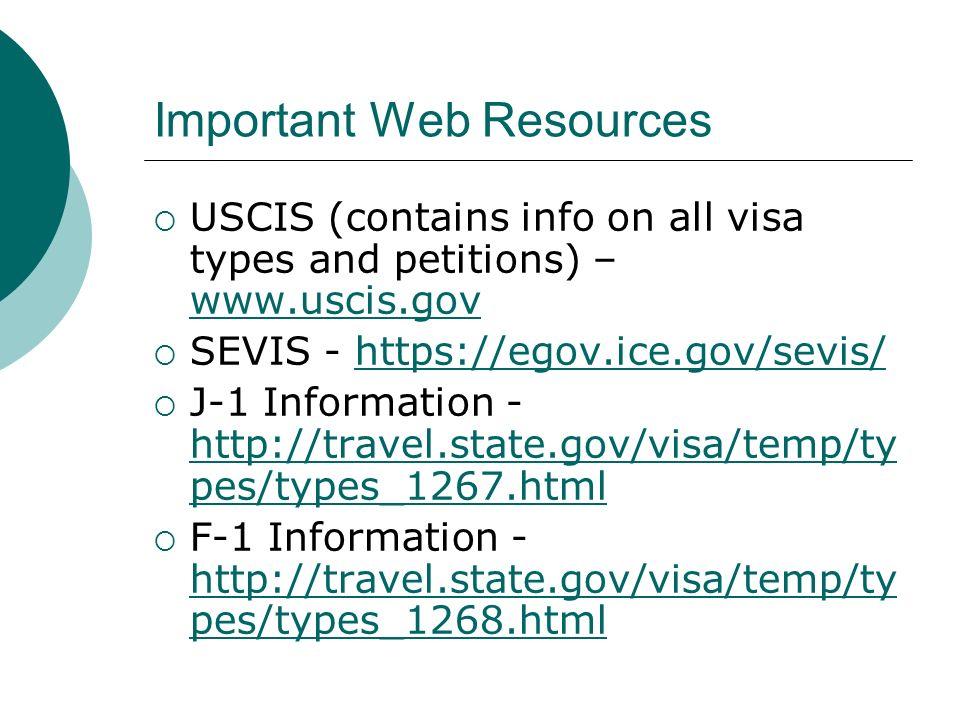 Important Web Resources Case Status Page - https://egov.immigration.gov/cris/js ps/index.jsp https://egov.immigration.gov/cris/js ps/index.jsp Visa Bulletin (for PR) - http://travel.state.gov/visa/frvi/bulle tin/bulletin_1360.html http://travel.state.gov/visa/frvi/bulle tin/bulletin_1360.html Foreign Labor Certification (For LCAs, PERM, Etc.) - http://www.foreignlaborcert.doleta.g ov/ http://www.foreignlaborcert.doleta.g ov/