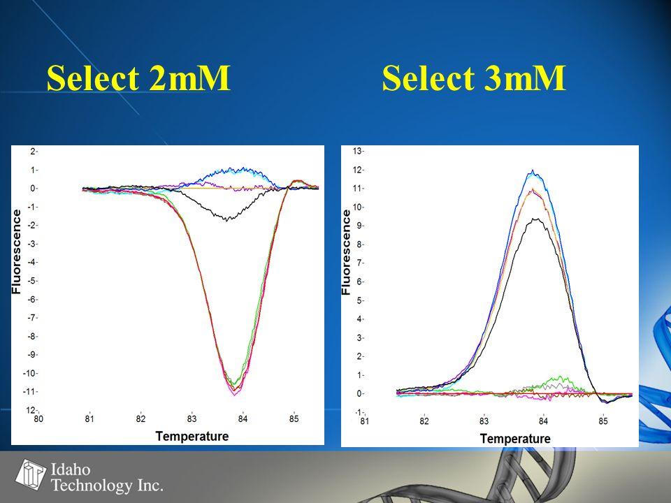 Select 2mMSelect 3mM