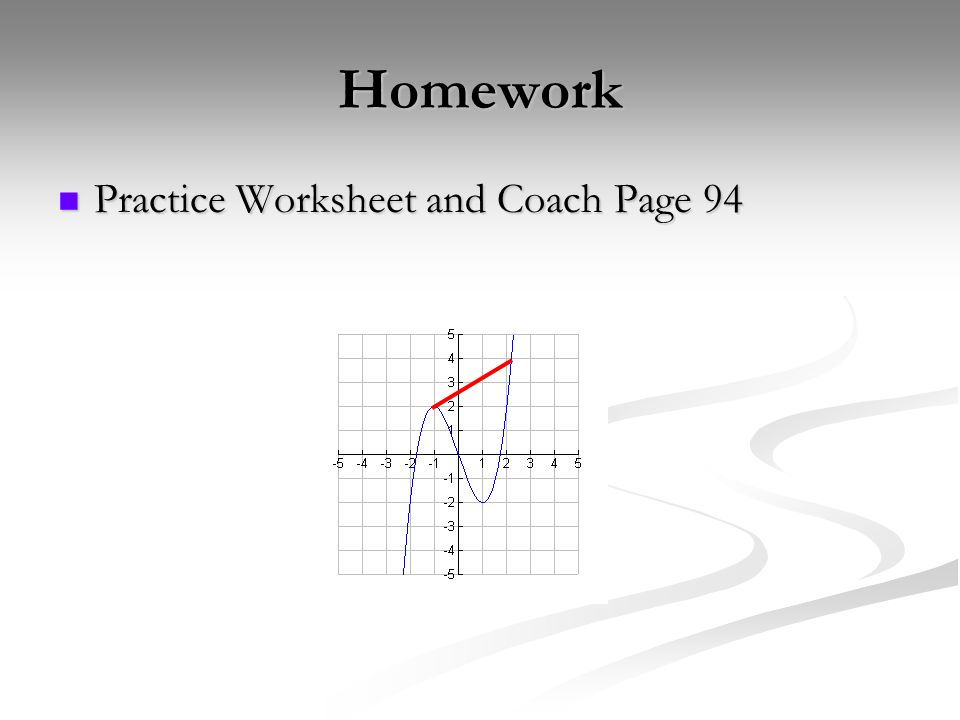Homework Practice Worksheet and Coach Page 94 Practice Worksheet and Coach Page 94