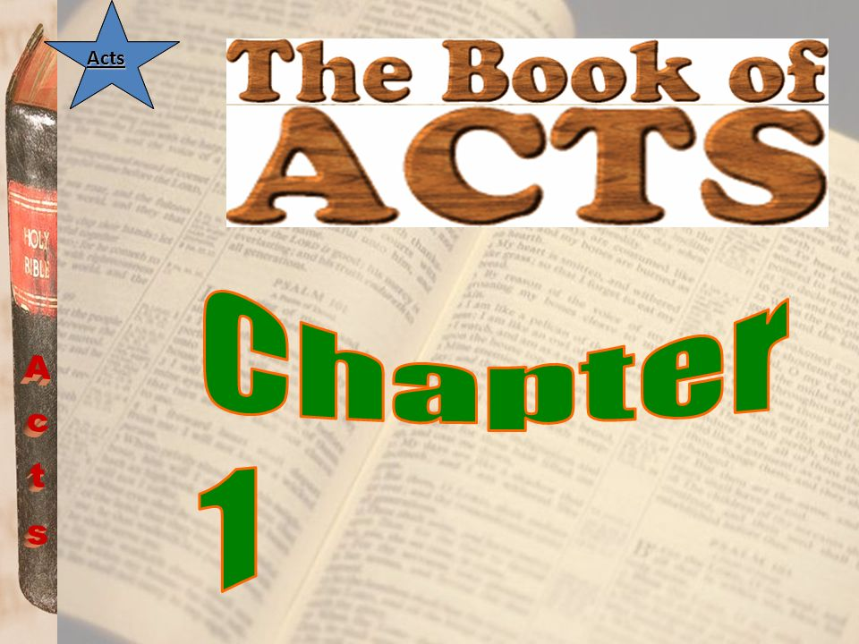 Acts Acts 1:14...