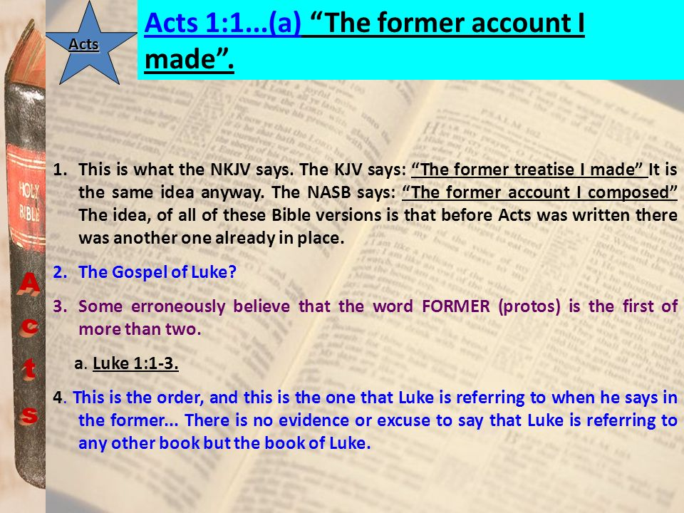 ActsActs Acts 1:25...(a) to take part in this ministry and apostleship from which Judas by transgression fell, that he might go to his own place.