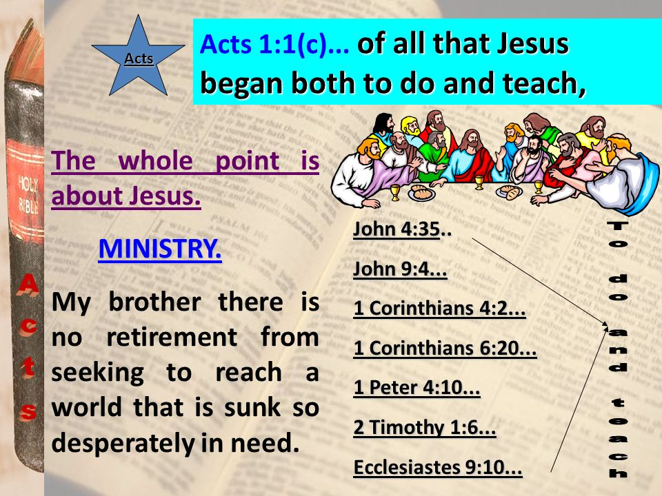 Acts Acts 1:15 (a)...