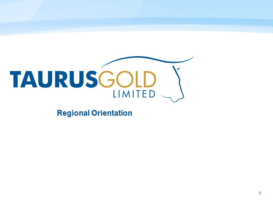 8 Regional Orientation