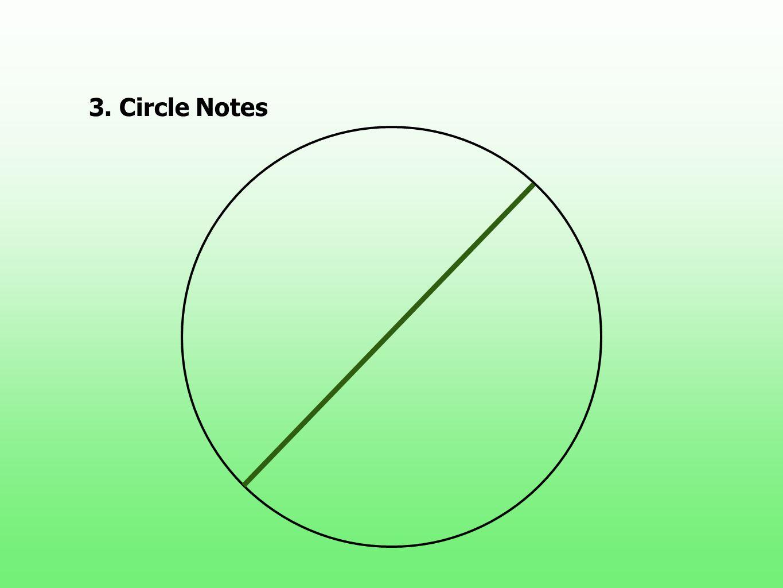 3.Circle Notes