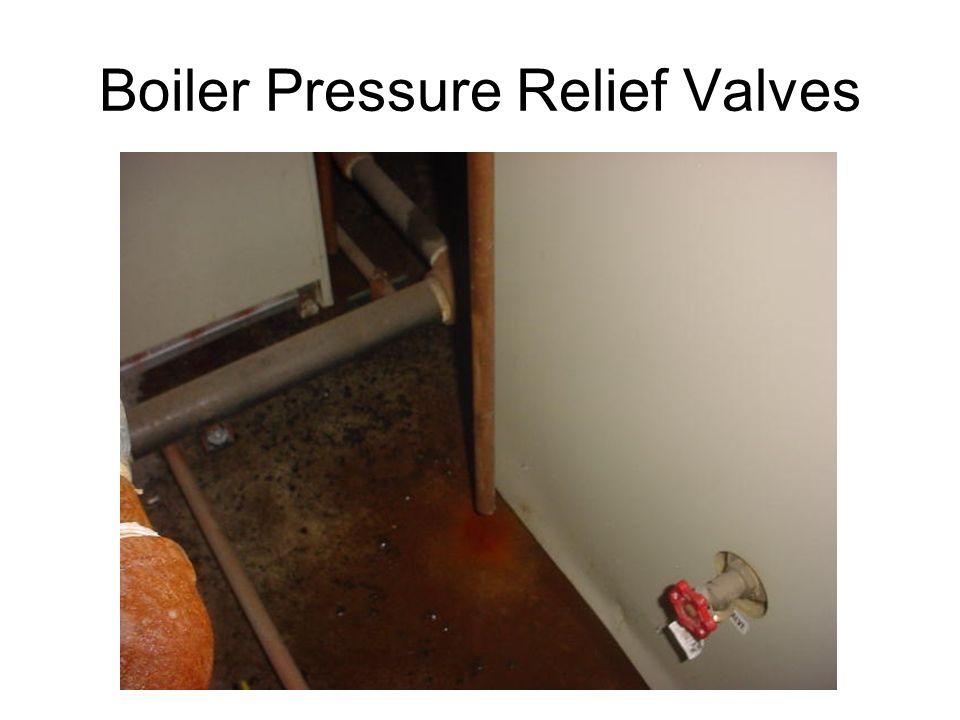 Boiler Pressure Relief Valves