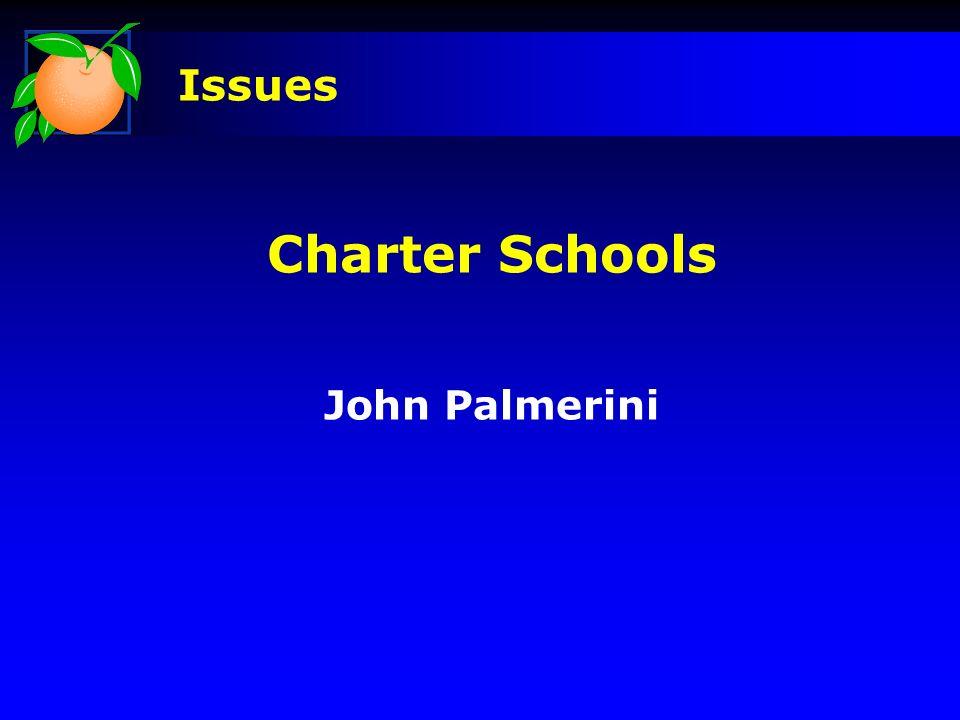 Charter Schools John Palmerini Issues