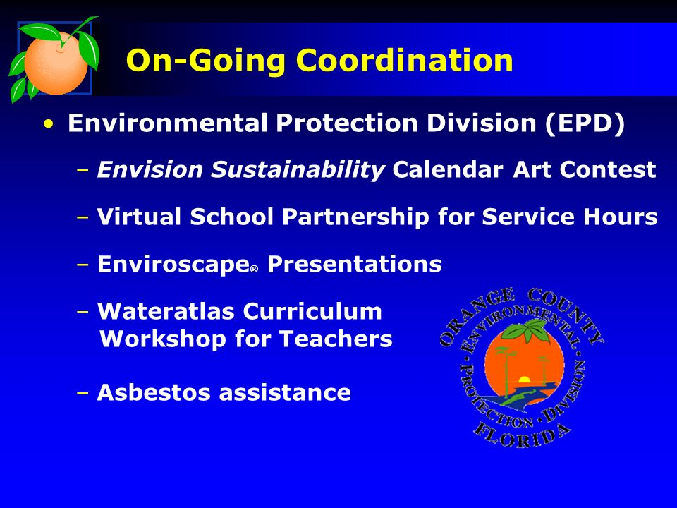 Purpose Ongoing Coordination Updates Successes Issues Discussion Presentation Outline