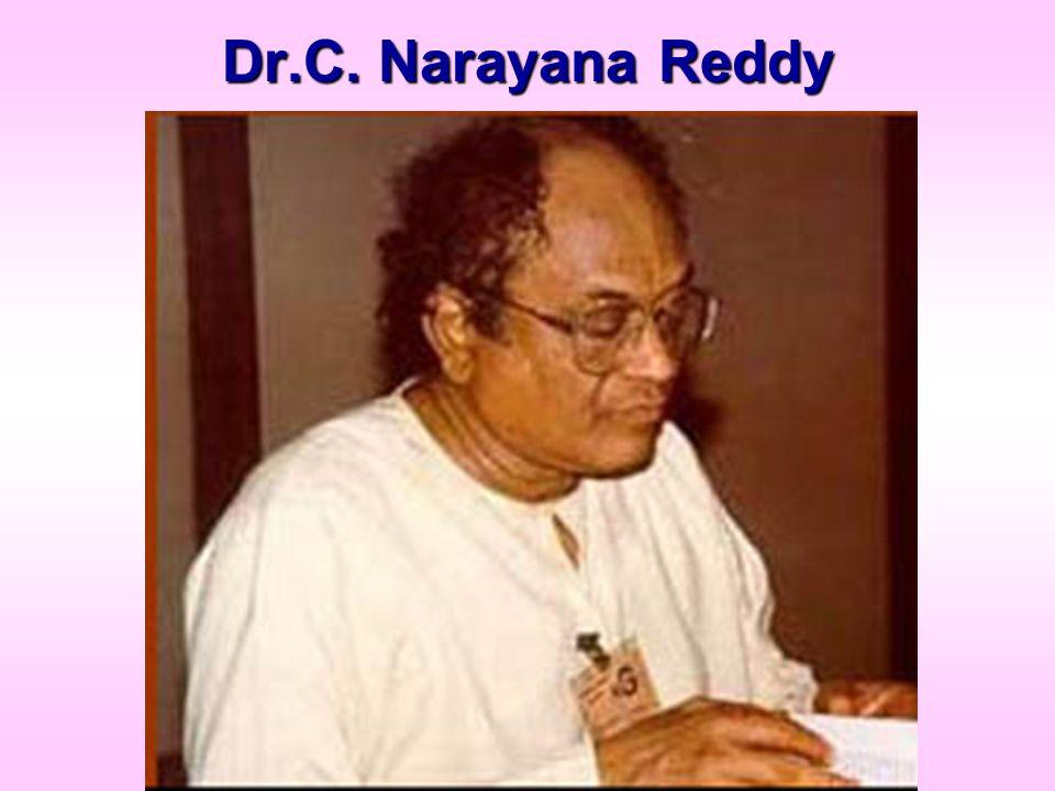 Dr.C. Narayana Reddy
