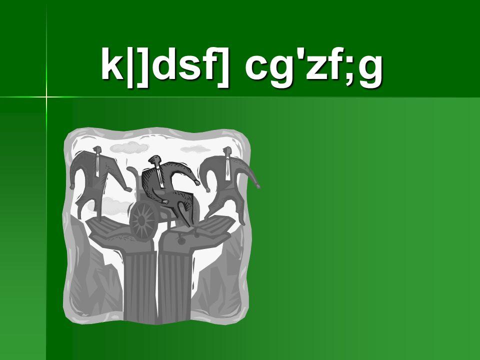 k|]dsf] cg zf;g