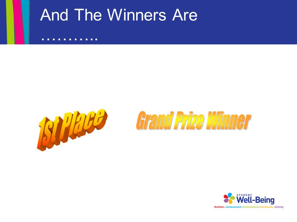 And The Winners Are ………..