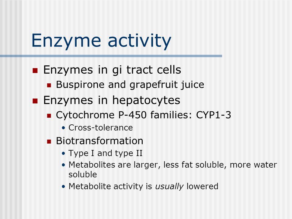 4. Elimination Routes of elimination: All body secretions Air Perspiration, saliva, milk Bile Urine Regurgitation Kidney action Liver enzyme activity: