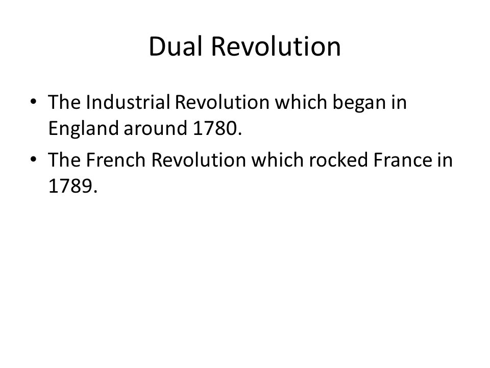 Socialist Concerns Early French socialist thinkers were already aware that the political revolution in France, the rise of laissez faire economics and the emergence of modern industry in Britain were transforming society.