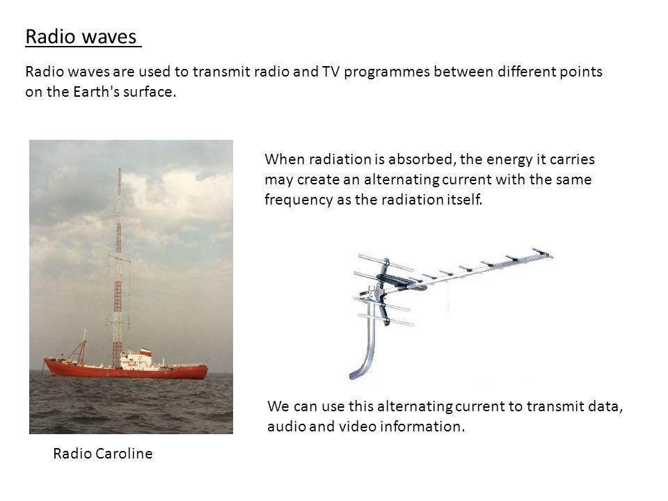 gamma rays X-rays ultra violet rays light infra red rays microwaves radio waves HighestShortest FrequencyWavelength LowestLongest FrequencyWavelength