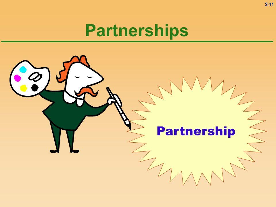 2-11 Partnerships Partnership
