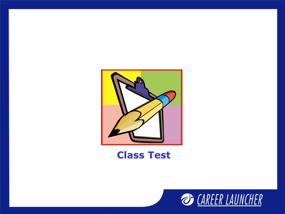 Class Test