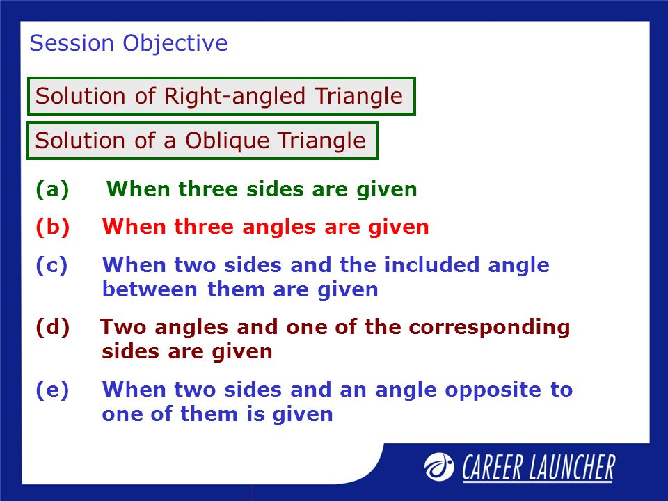 Introduction A triangle has three sides and three angles.