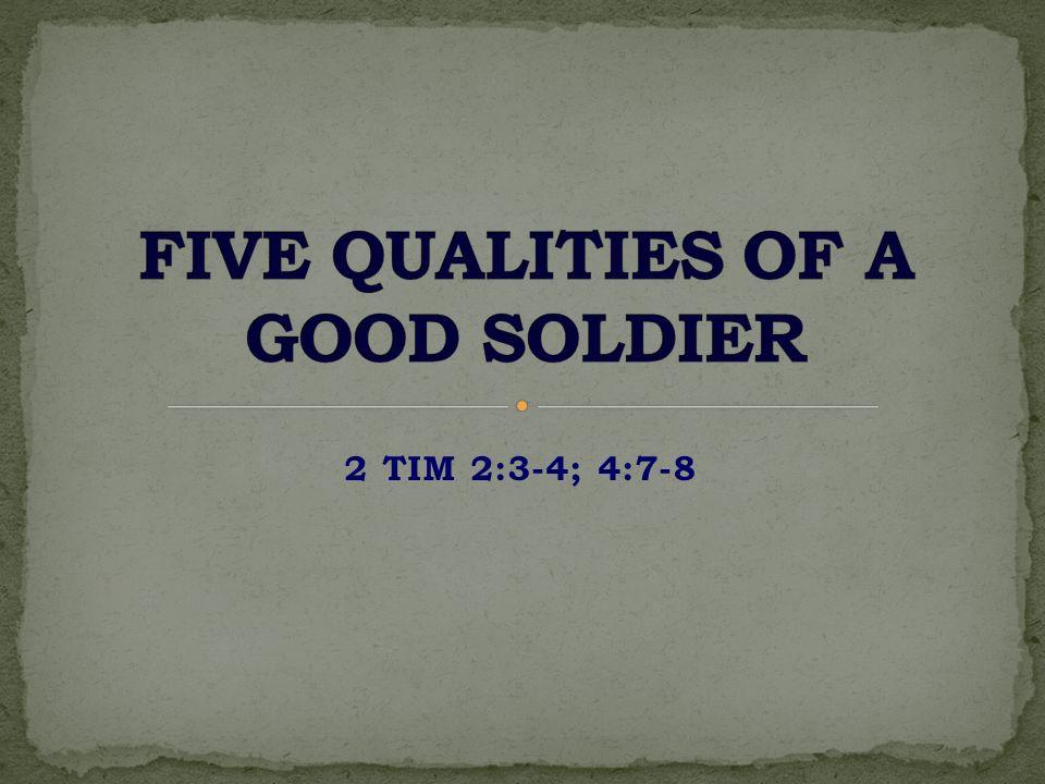 2 TIM 2:3-4; 4:7-8