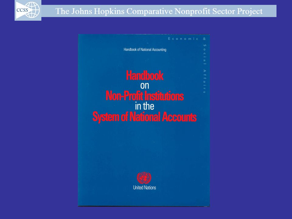 The Johns Hopkins Comparative Nonprofit Sector Project