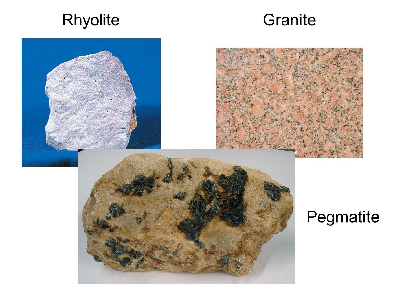 RhyoliteGranite Pegmatite
