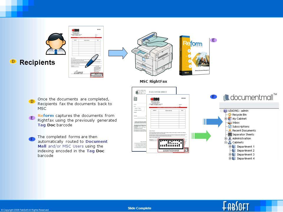 MSC WEB PORTAL Slide Complete