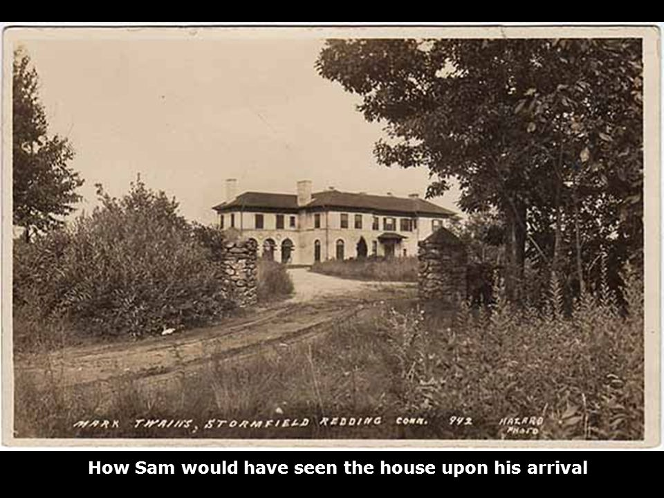 How Sam would have seen the house upon his arrival