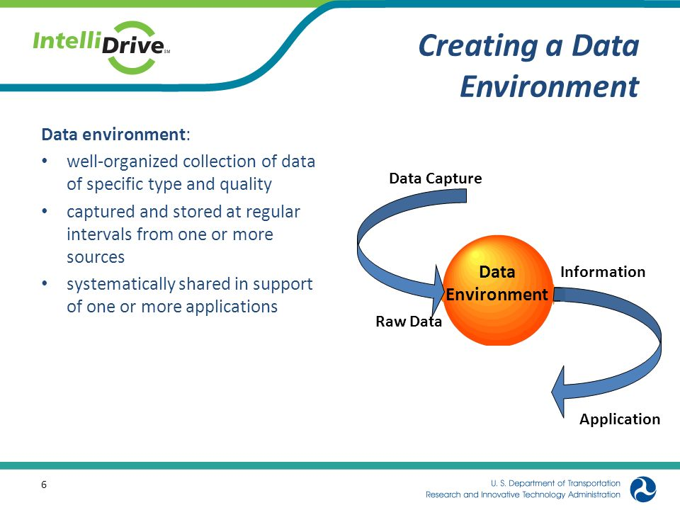 Key Issues in Defining A Data Environment What Data Do We Keep.