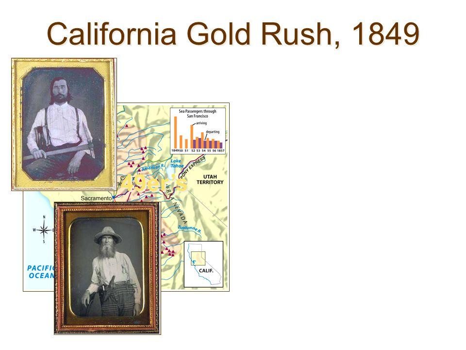 California Gold Rush, 1849 49ers