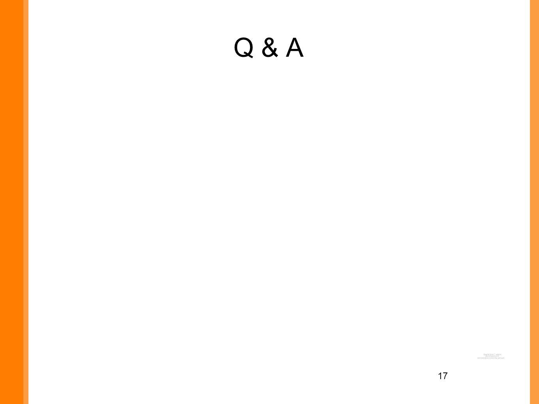 17 Q & A