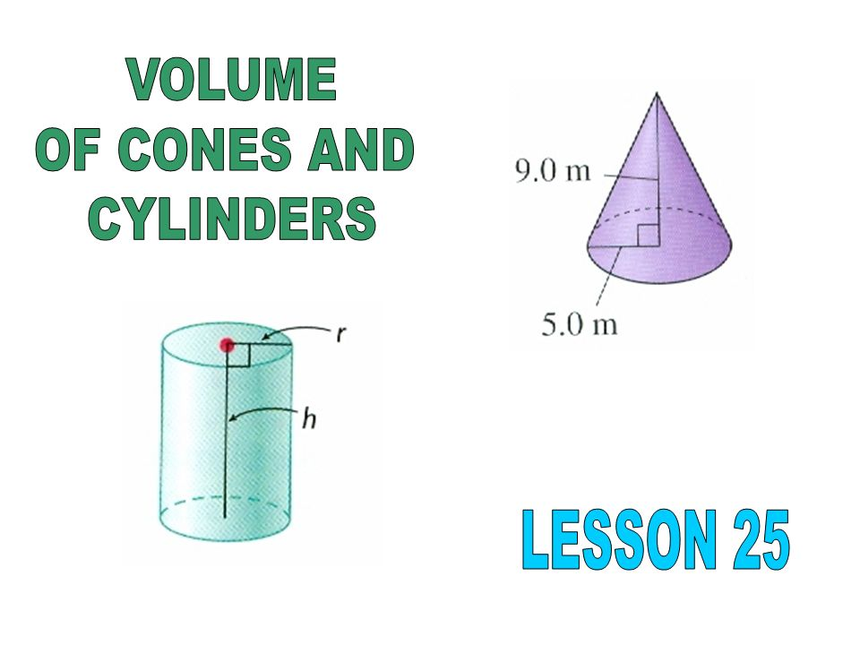 The amount of space that an object occupies is the volume of the object.