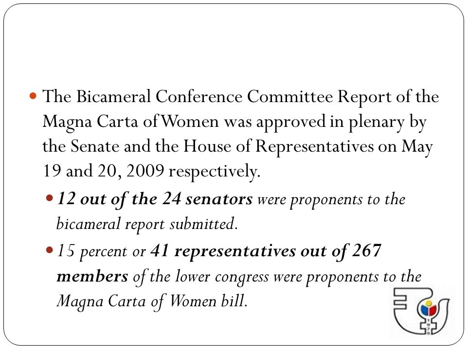 PGMA signed the MCW into law in Malacañan Palace on August 14, 2009.