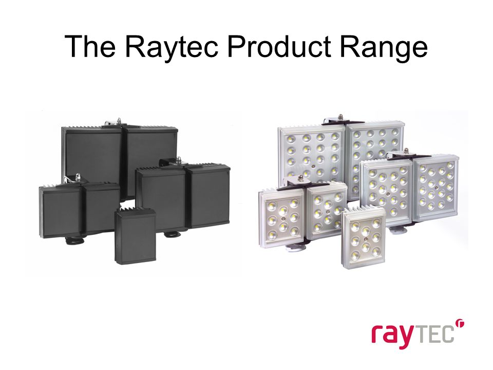 The Raytec Product Range