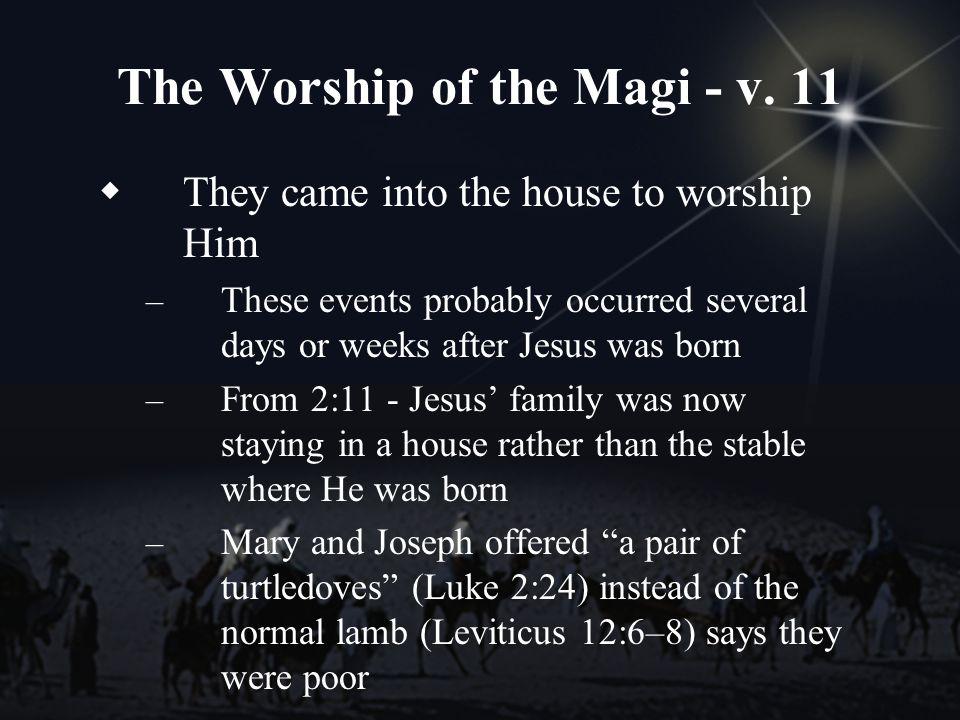 The Worship of the Magi - v.
