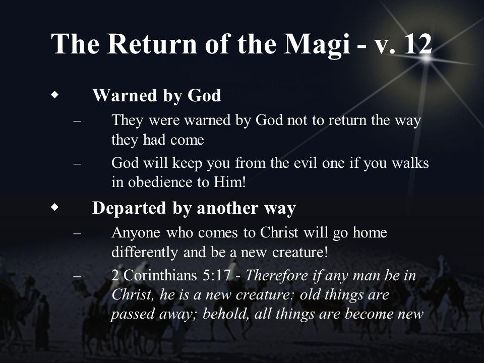 The Return of the Magi - v.