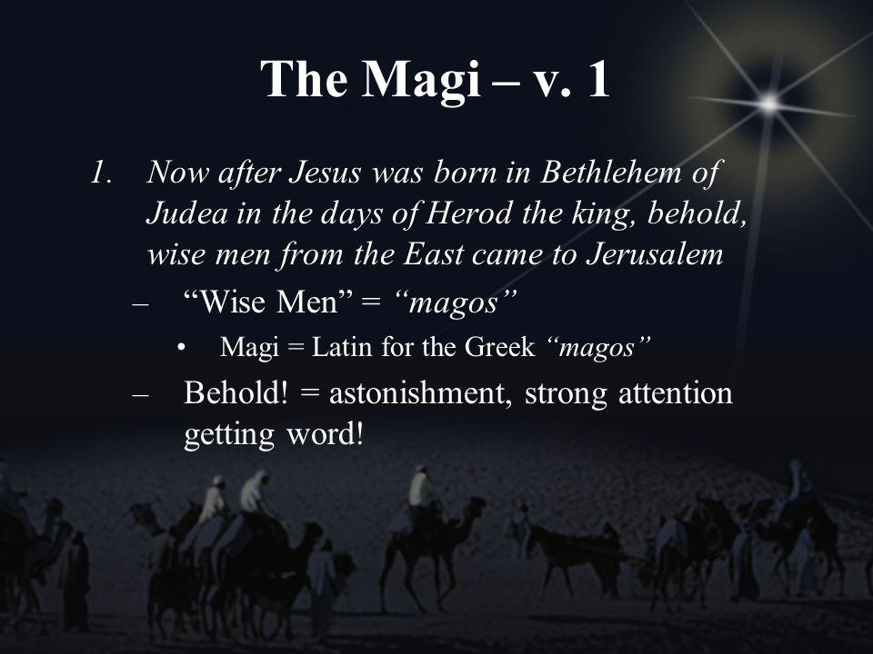 The Magi – v.