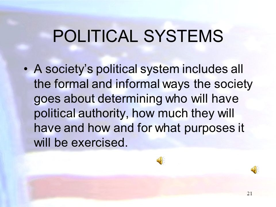 20 Government Types of States and Other Political Units