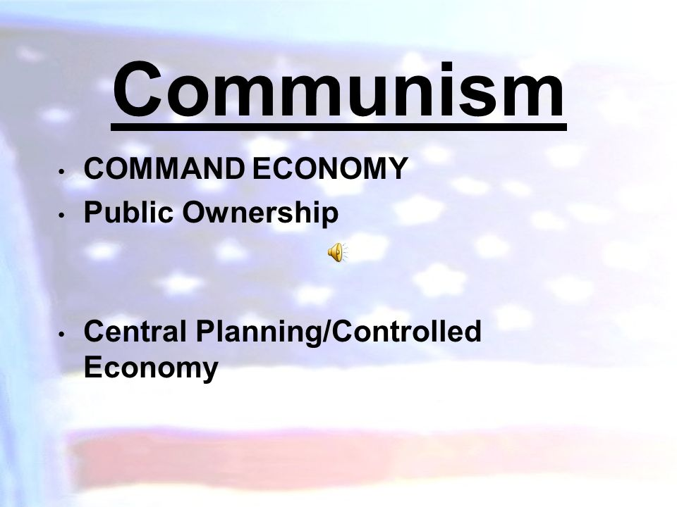 Capitalism Private Property Profit/Ownership Freedom of Competition Freedom of Choice SHOW VIDEO-THE ROAD TO PROSPERITY WITH QUESTIONS