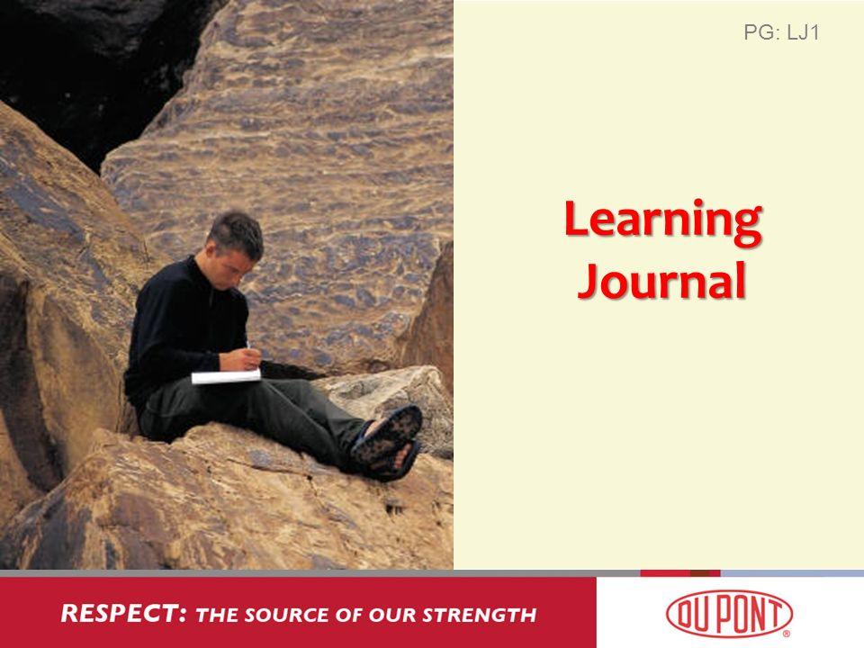 Learning Journal PG: LJ1
