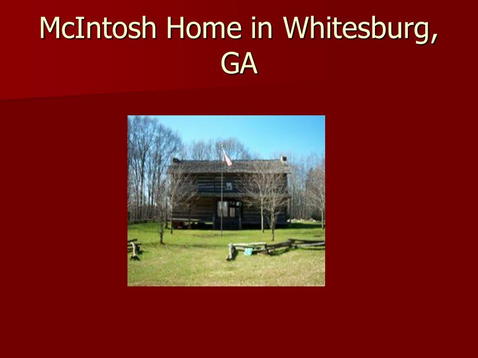 McIntosh Home in Whitesburg, GA