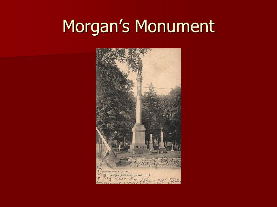 Morgans Monument