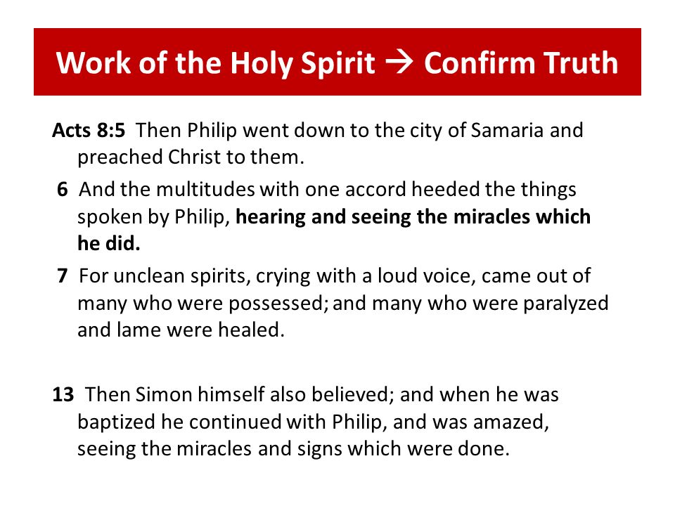 Work of Preachers Philip, the preacher, … beginning at this Scripture, preached Jesus to him (v.