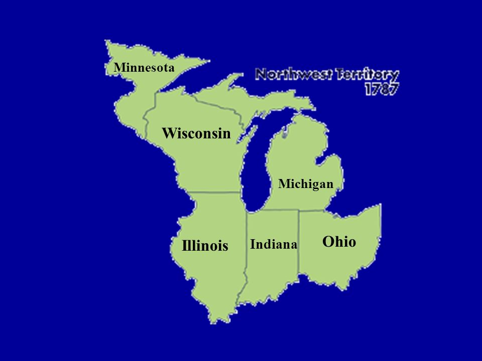 Ohio Indiana Illinois Michigan Wisconsin Minnesota