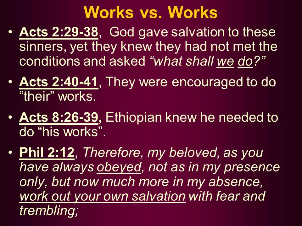 Works vs.