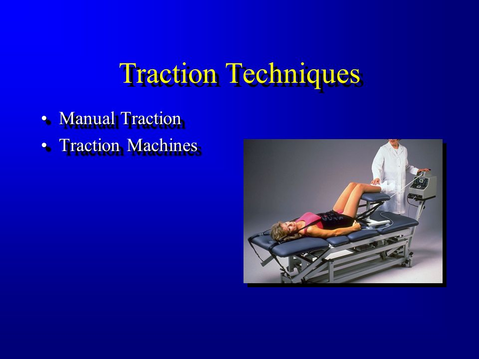 Traction Techniques Manual TractionManual Traction
