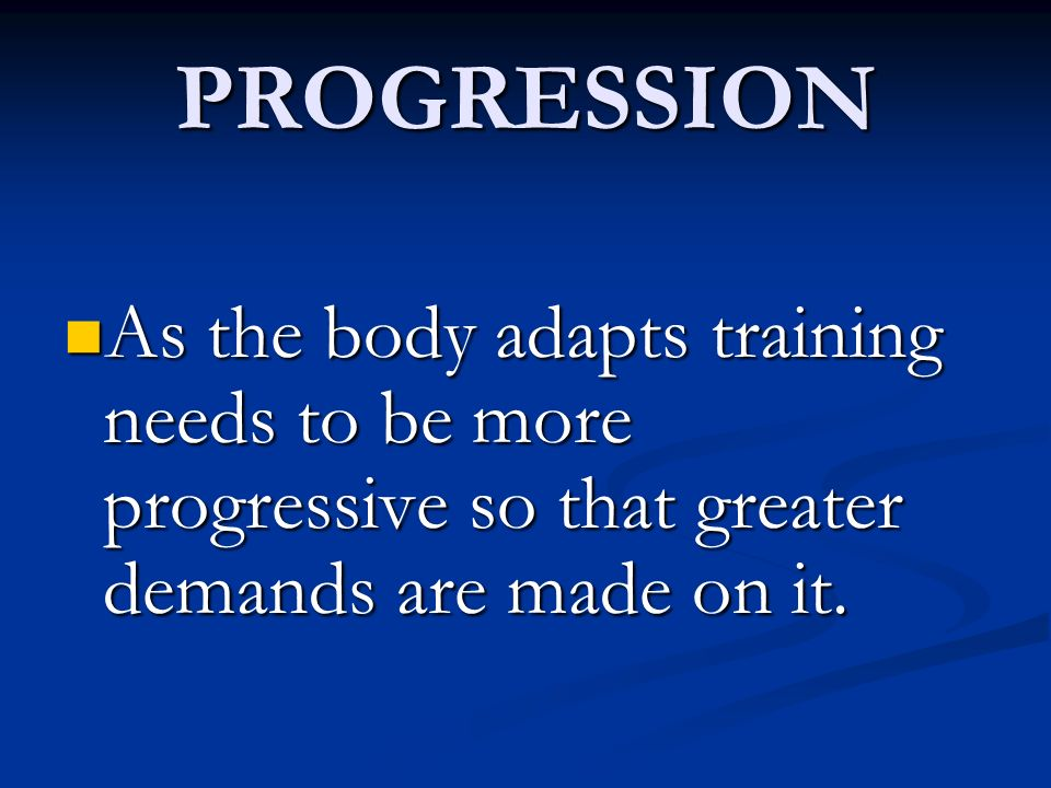 REVERSIBILITY Loss of improvement when training is decreased or stopped Loss of improvement when training is decreased or stopped