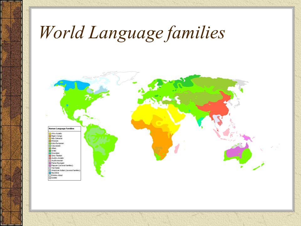 World Language families