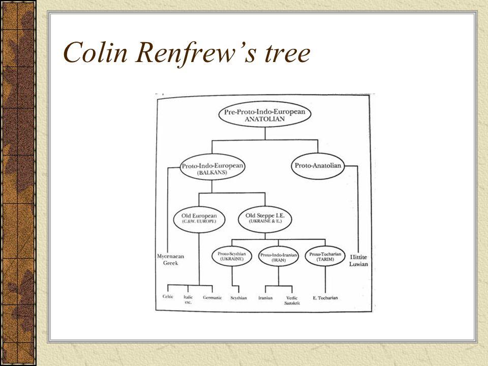 Colin Renfrews tree