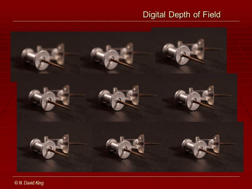 Digital Depth of Field Digital Depth of Field © N. David King