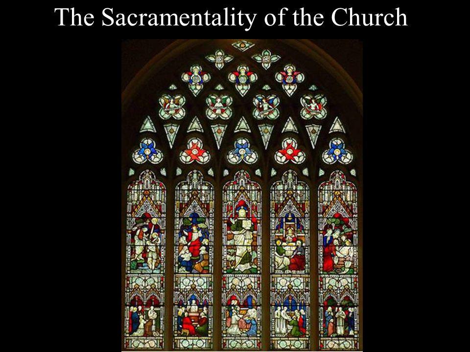 The Sacramentality of the Church