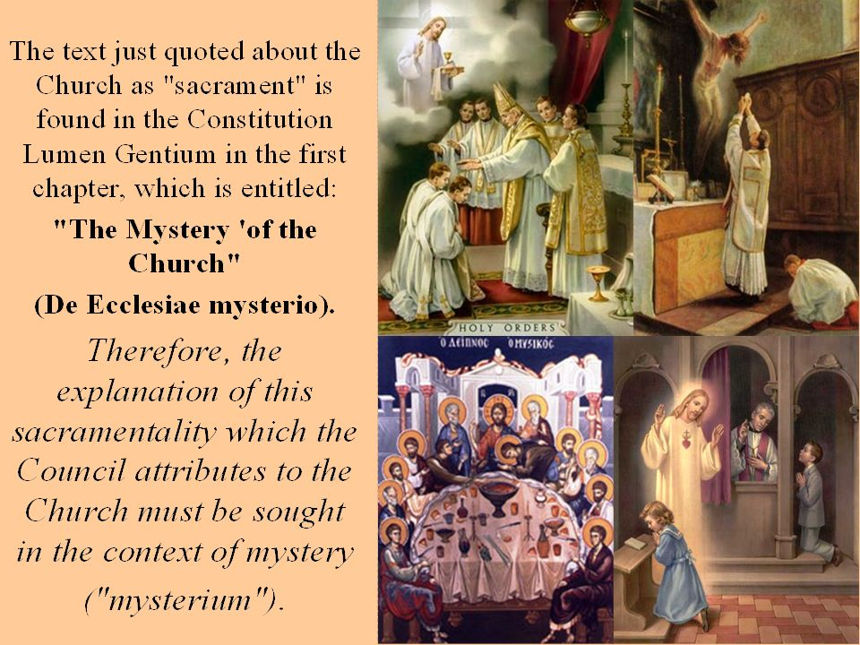 By this sharing in the mystery of Christ, the Church is the Body of Christ.